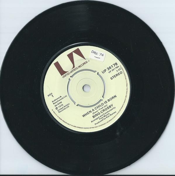 Bing Crosby - When a child is born