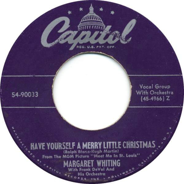 Margaret Whiting - Have yourself a merry little Christmas