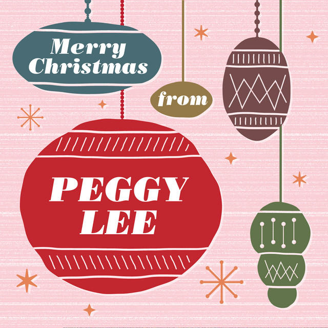 Peggy Lee - The Christmas song ~ merry Christmas to you