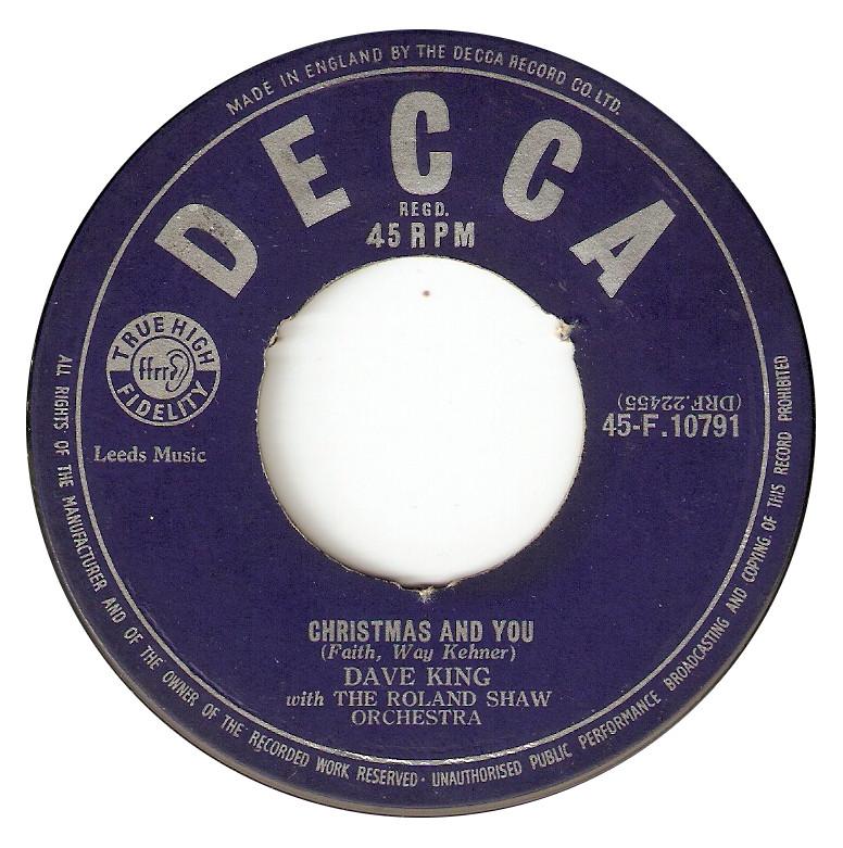 Dave King - Christmas and you