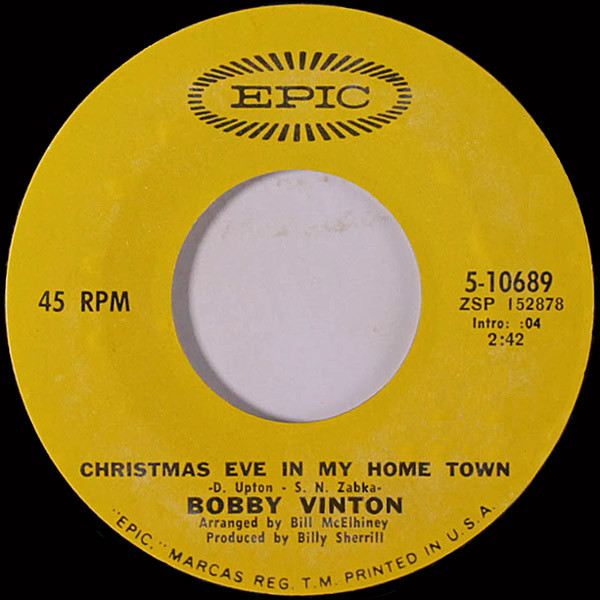 Bobby Vinton - Christmas eve in my hometown