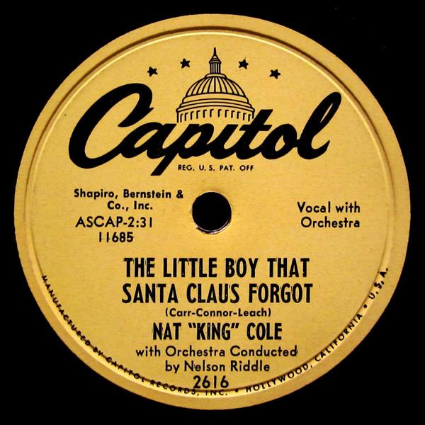 Nat King Cole - The little boy that Santa Claus forgot