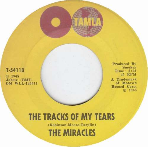 The Miracles - The tracks of my tears
