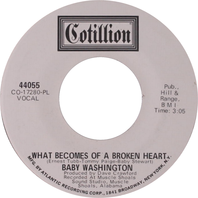 Baby Washington - What becomes of the brokenhearted