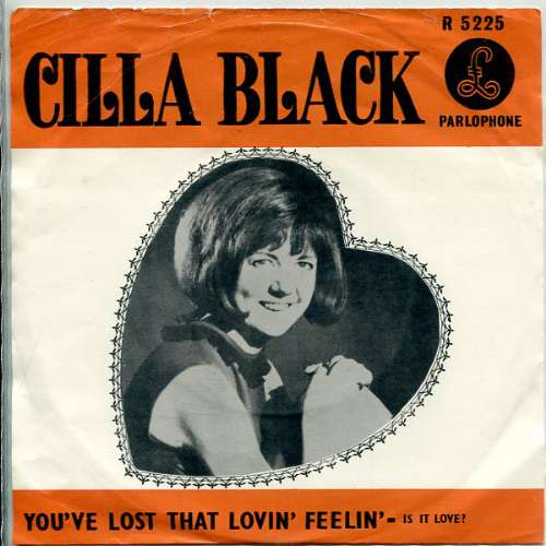 Cilla Black - You've lost that loving feeling