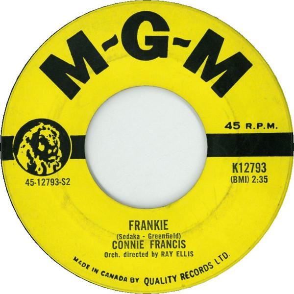 Connie Francis - Frankie