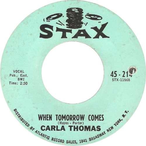 Carla Thomas - When tomorrow comes