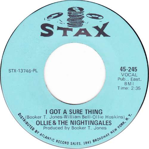Ollie & The Nightingales - I got a sure thing