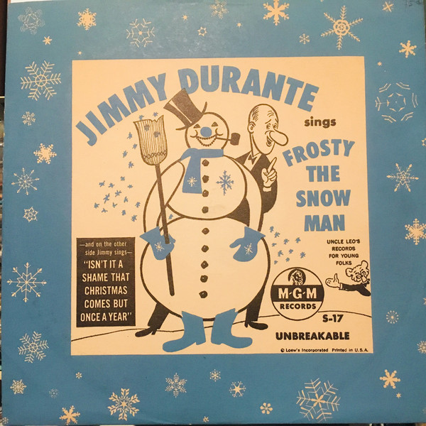 Jimmy Durante - Frosty the snowman