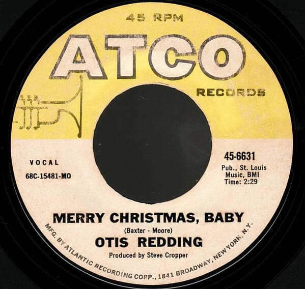 Otis Redding - Merry Christmas baby