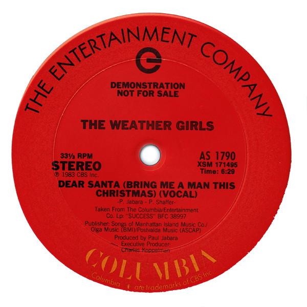 Weather Girls - Dear Santa ~ bring me a man this Christmas