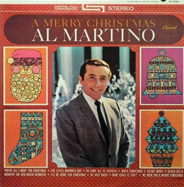 Al Martino - We wish you a merry Christmas