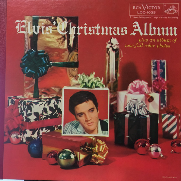 Elvis Presley - Here comes Santa Claus ~ right down Santa Claus lane